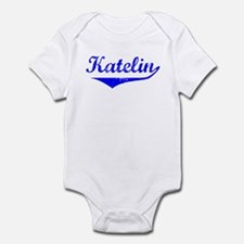 Katelin Vintage (Blue) Infant Bodysuit