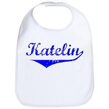 Katelin Vintage (Blue) Bib