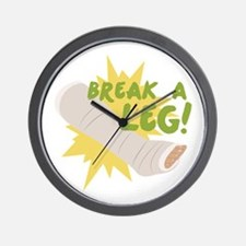 Break A Leg Wall Clock