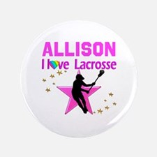 """LACROSSE PLAYER 3.5"""" Button (100 pack)"""