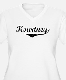 Kourtney Vintage (Black) T-Shirt