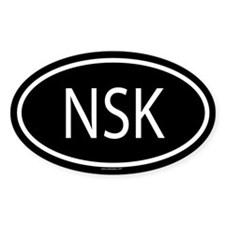 NSK Oval Decal
