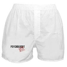 Off Duty Psychologist Boxer Shorts