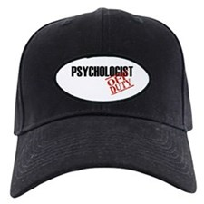 Off Duty Psychologist Baseball Hat