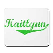 Kaitlynn Vintage (Green) Mousepad