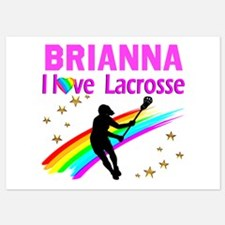 LACROSSE PLAYER Invitations