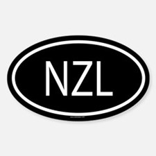 NZL Oval Decal