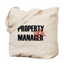 Off Duty Property Manager Tote Bag