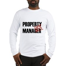 Off Duty Property Manager Long Sleeve T-Shirt
