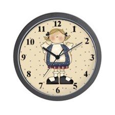 Angel Holiday Wall Clock