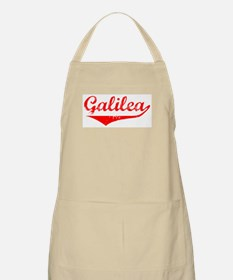 Galilea Vintage (Red) BBQ Apron