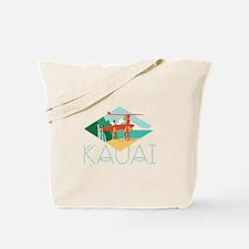 Kauai Surfers Tote Bag
