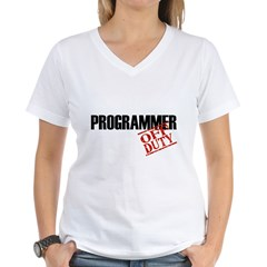 Off Duty Programmer Shirt
