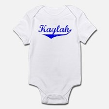Kaylah Vintage (Blue) Infant Bodysuit