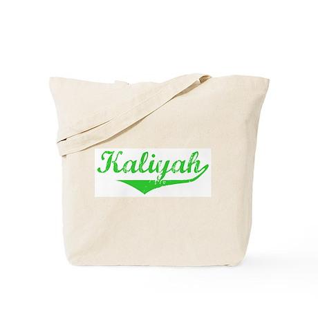 Kaliyah Vintage (Green) Tote Bag
