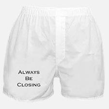 ABC...Always Be Closing Boxer Shorts