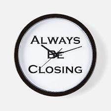ABC...Always Be Closing Wall Clock