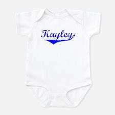 Kayley Vintage (Blue) Infant Bodysuit