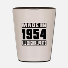 Made In 1954 Shot Glass