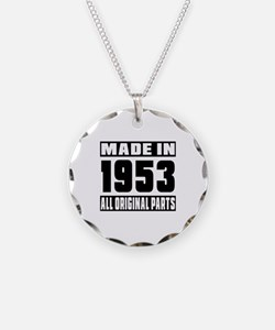 Made In 1953 Necklace