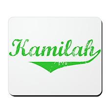 Kamilah Vintage (Green) Mousepad