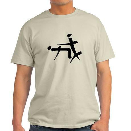 Funny Chinese Symbol Light T-Shirt