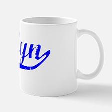 Kaylyn Vintage (Blue) Mug