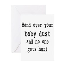babydust1 Greeting Cards