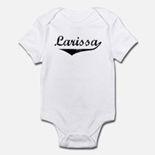 Larissa Vintage (Black) Infant Bodysuit