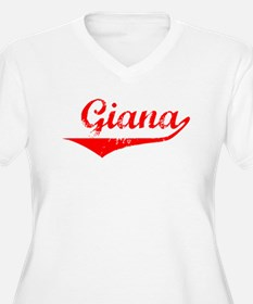 Giana Vintage (Red) T-Shirt