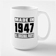 Made In 1947 Large Mug