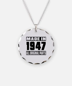 Made In 1947 Necklace