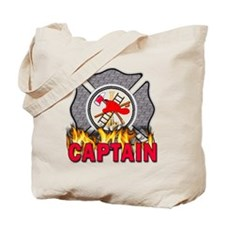 Fire Department Captain Tote Bag