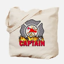 Fire Department Captain Tote Bag