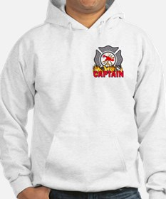 Fire Department Captain Hoodie Sweatshirt