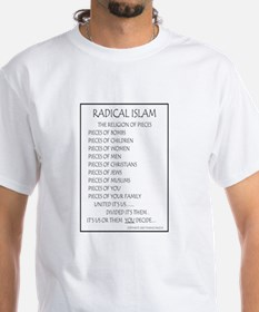 Radical Islam the Religion of Shirt