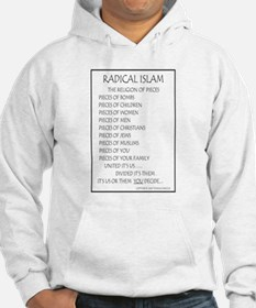 Radical Islam the Religion of Hoodie