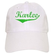 Karlee Vintage (Green) Baseball Cap