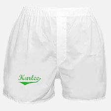 Karlee Vintage (Green) Boxer Shorts