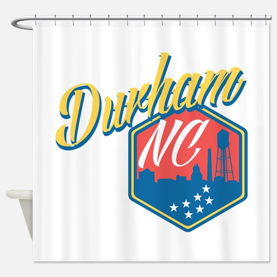 Durham, NC Shower Curtain