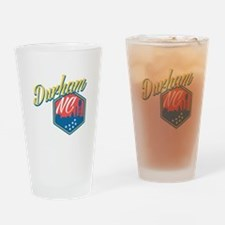 Durham, NC Drinking Glass