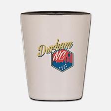 Durham, NC Shot Glass