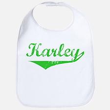 Karley Vintage (Green) Bib