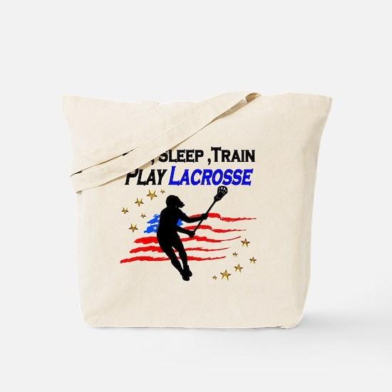 LACROSSE PLAYER Tote Bag