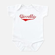 Gisselle Vintage (Red) Infant Bodysuit