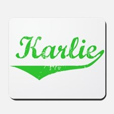Karlie Vintage (Green) Mousepad