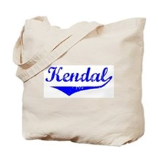 Kendal Vintage (Blue) Tote Bag