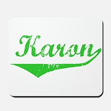 Karon Vintage (Green) Mousepad