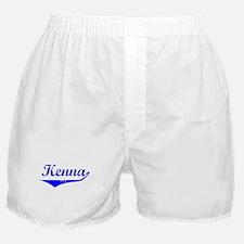 Kenna Vintage (Blue) Boxer Shorts