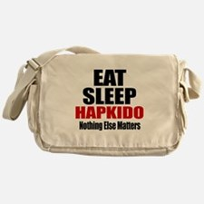 Eat Sleep Hapkido Messenger Bag